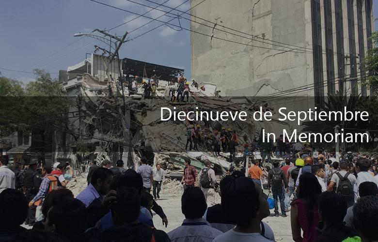 Diecinueve de septiembre, In Memoriam